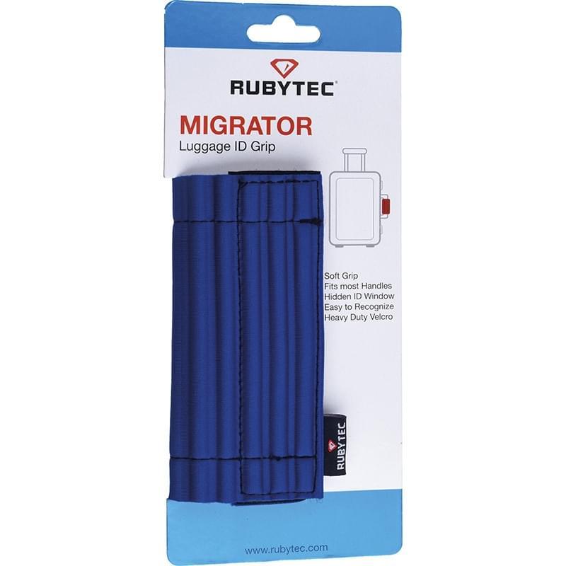 Rubytec Migrator Luggage ID Grip Blue