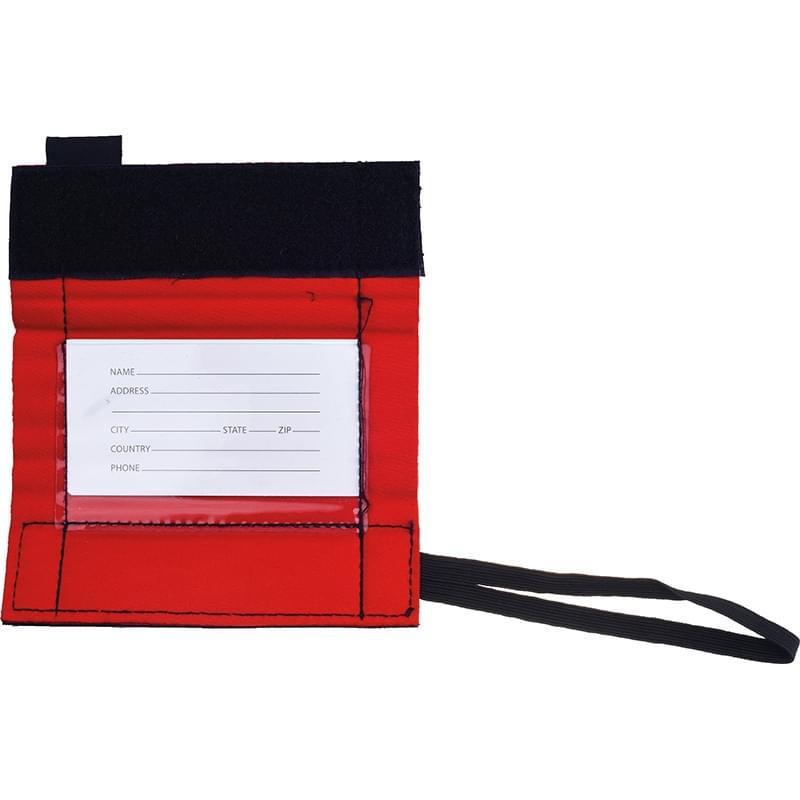 Rubytec Migrator Luggage ID Grip Red