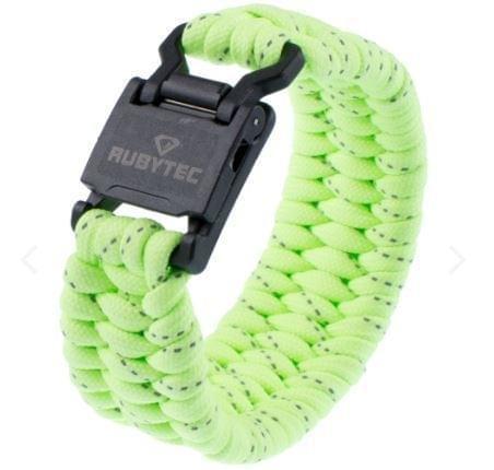 Rubytec Gibbon Magnetic Wrist Wizard - Groen & Reflecterend