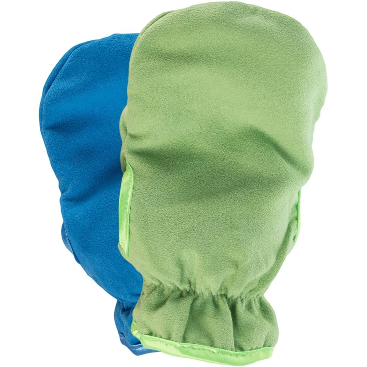 Rubytec Samos Washing Gloves Green & Blue
