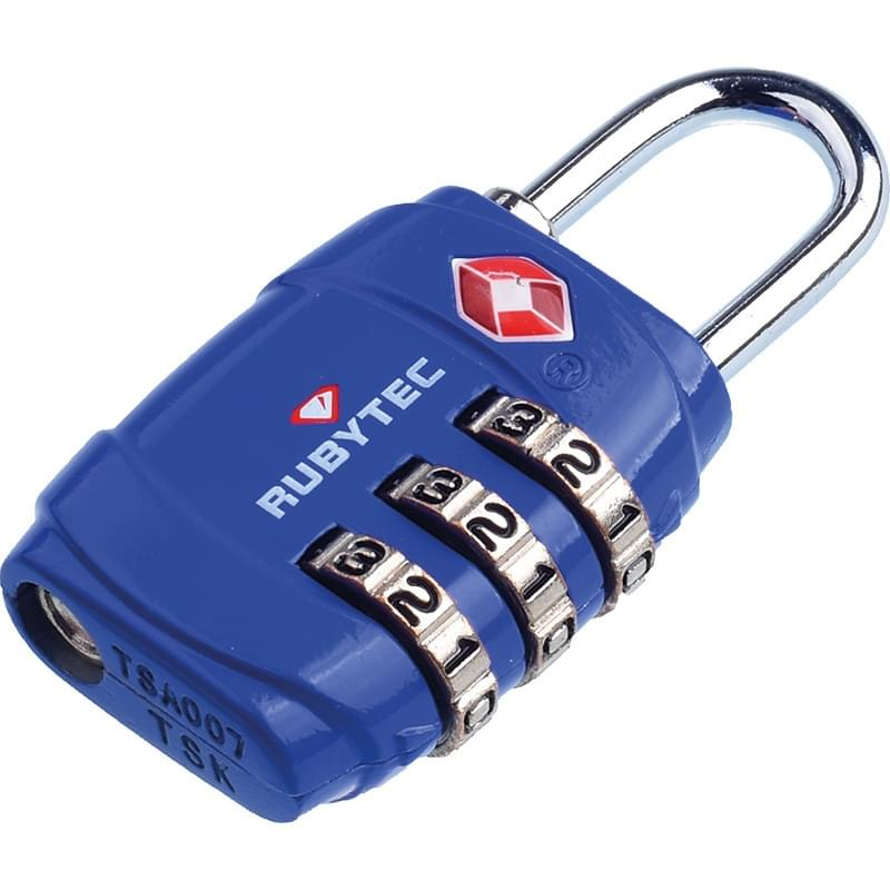 Rubytec Migrator TSA 3 Dial Lock Blue