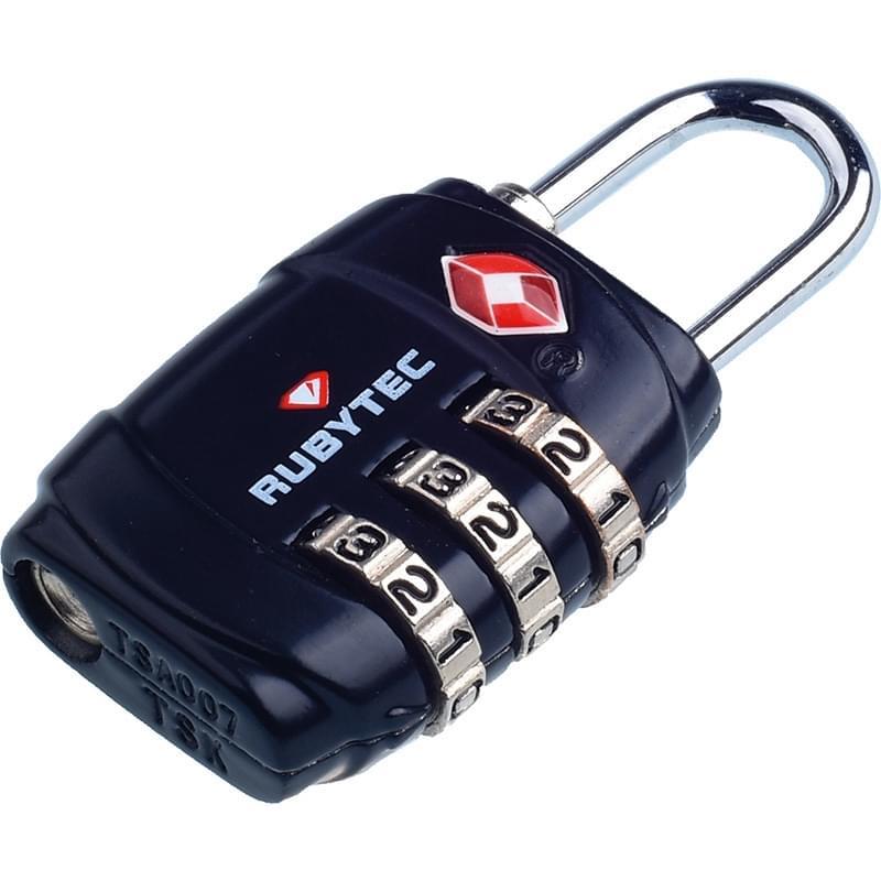 Rubytec Migrator TSA 3 Dial Lock Black