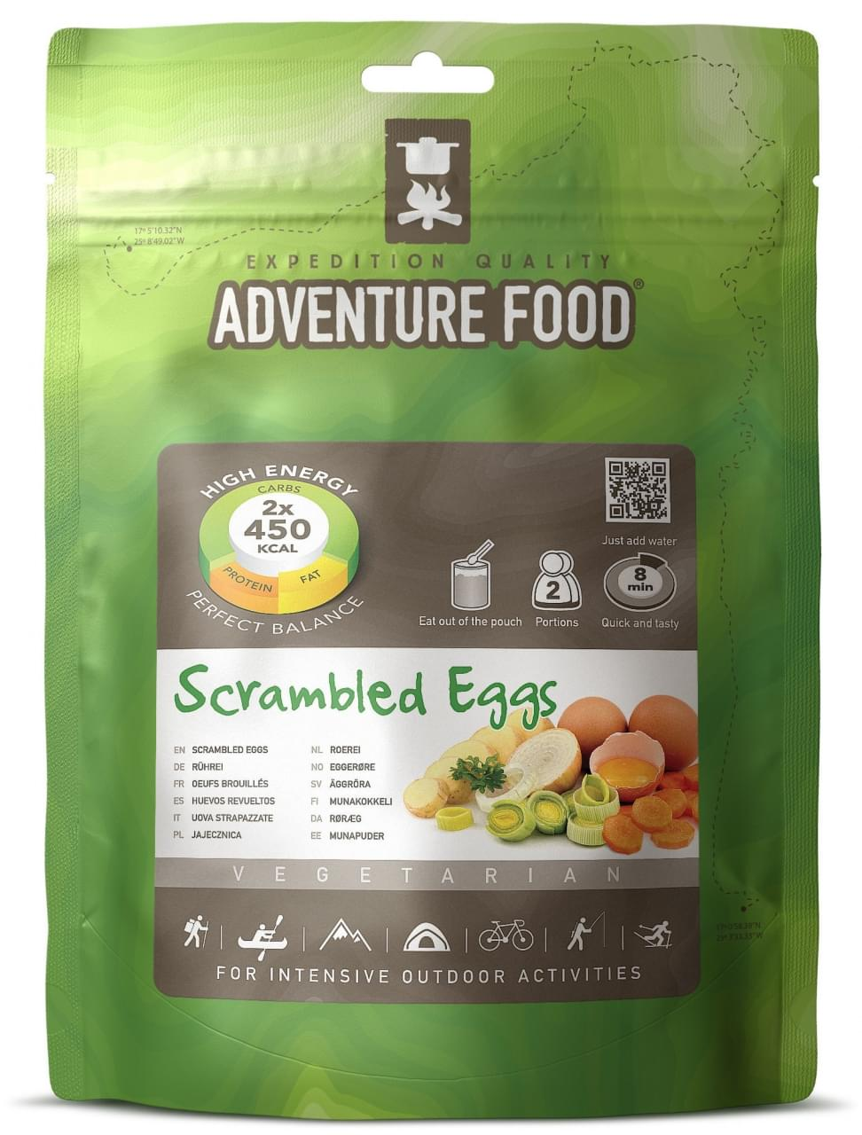 Adventure Food Ontbijt Twee porties Scrambled Eggs