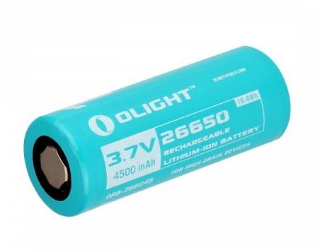 Olight Accu 4500 mAh Voor R50/R50PRO Zaklamp