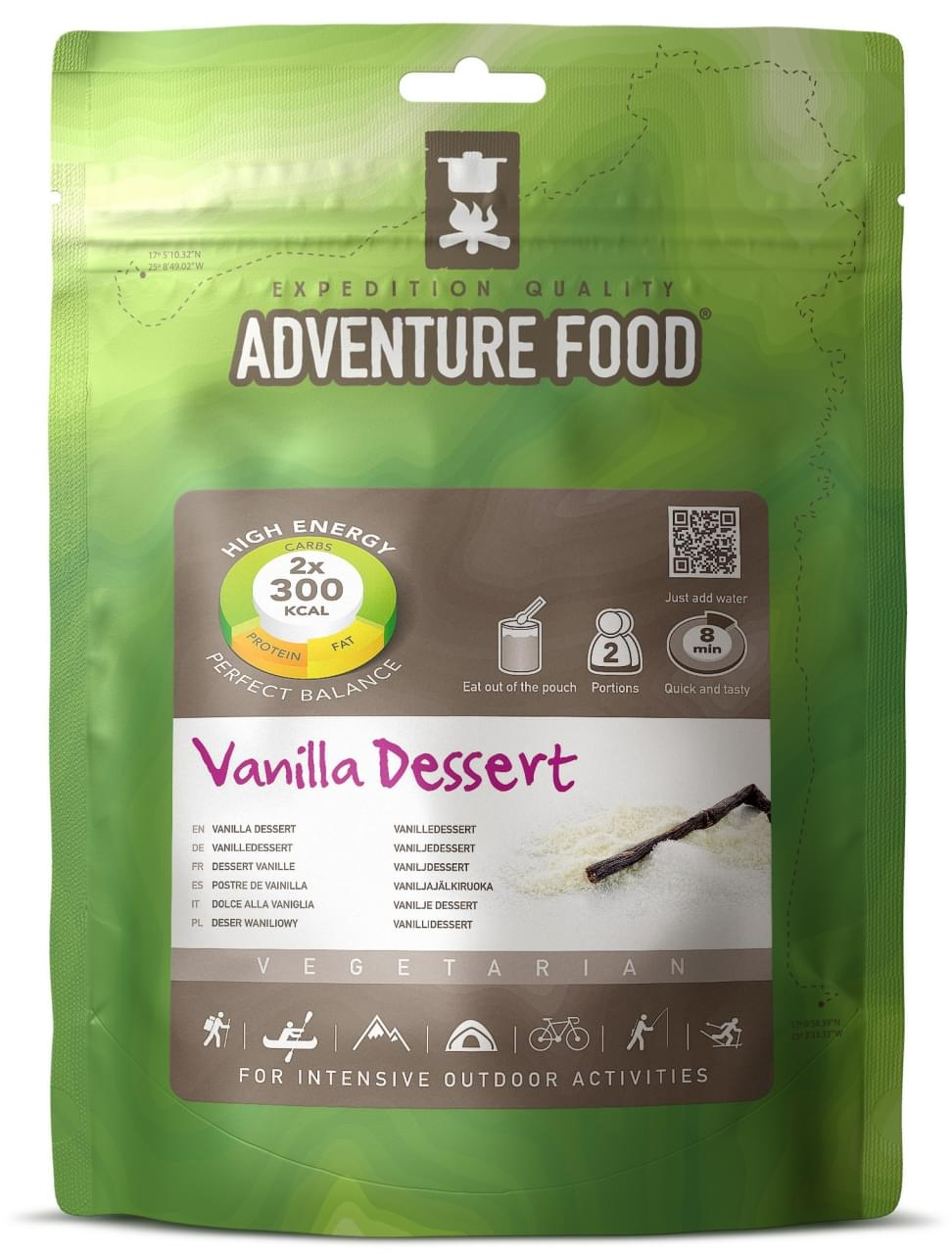 Adventure Food Dessert Twee porties Vanilla Dessert