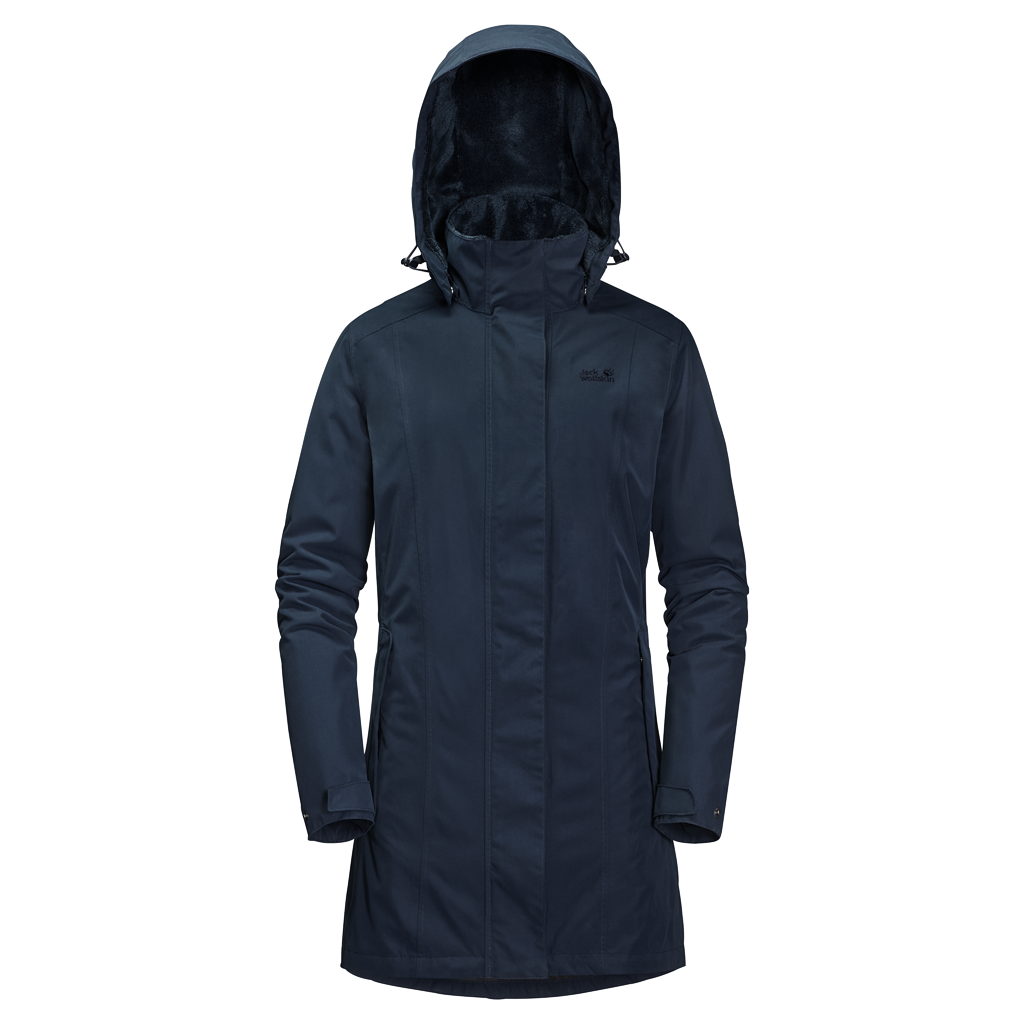 Jack Wolfskin Madison Avenue Winterjas Dames