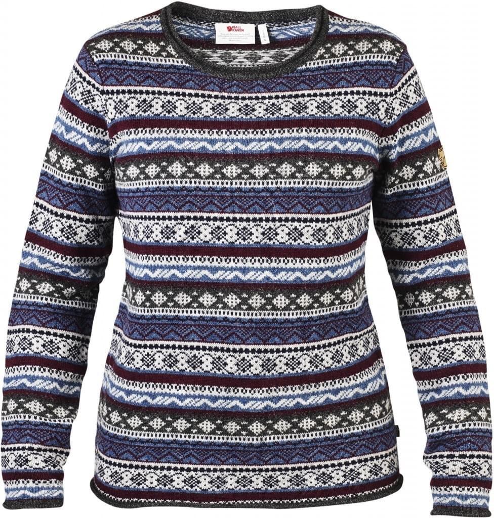 Fjallraven Ovik Folk Knit Sweater Women