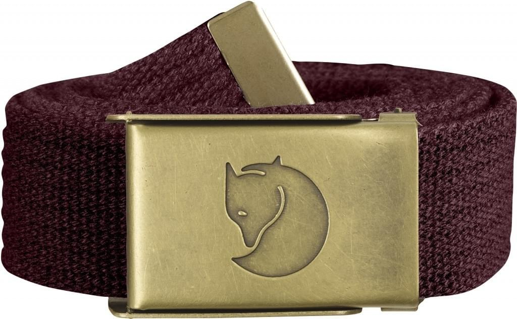 Fjallraven Canvas Brass Belt 3 cm. mt. 1 Size