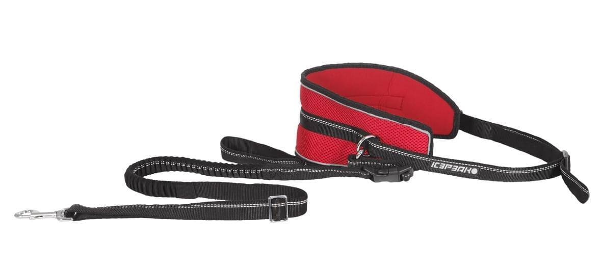 Icepeak Pet Runner Running Belt Red