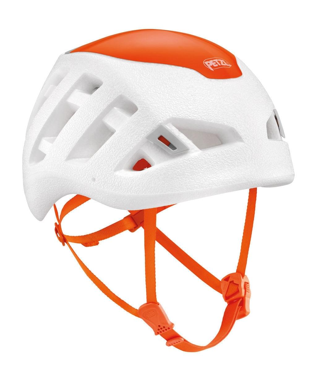 Petzl Sirocco White Orange - Klimhelm