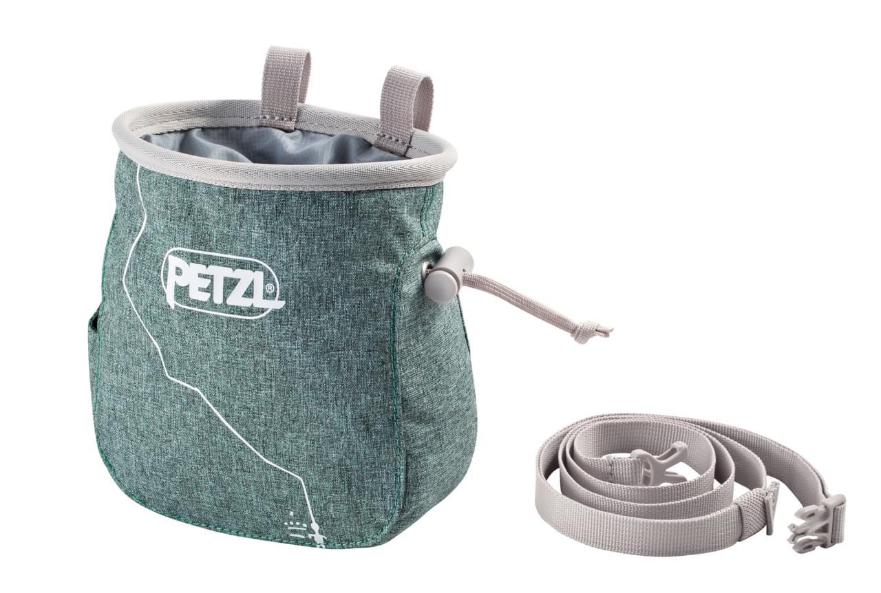 Petzl Saka Mottled Green