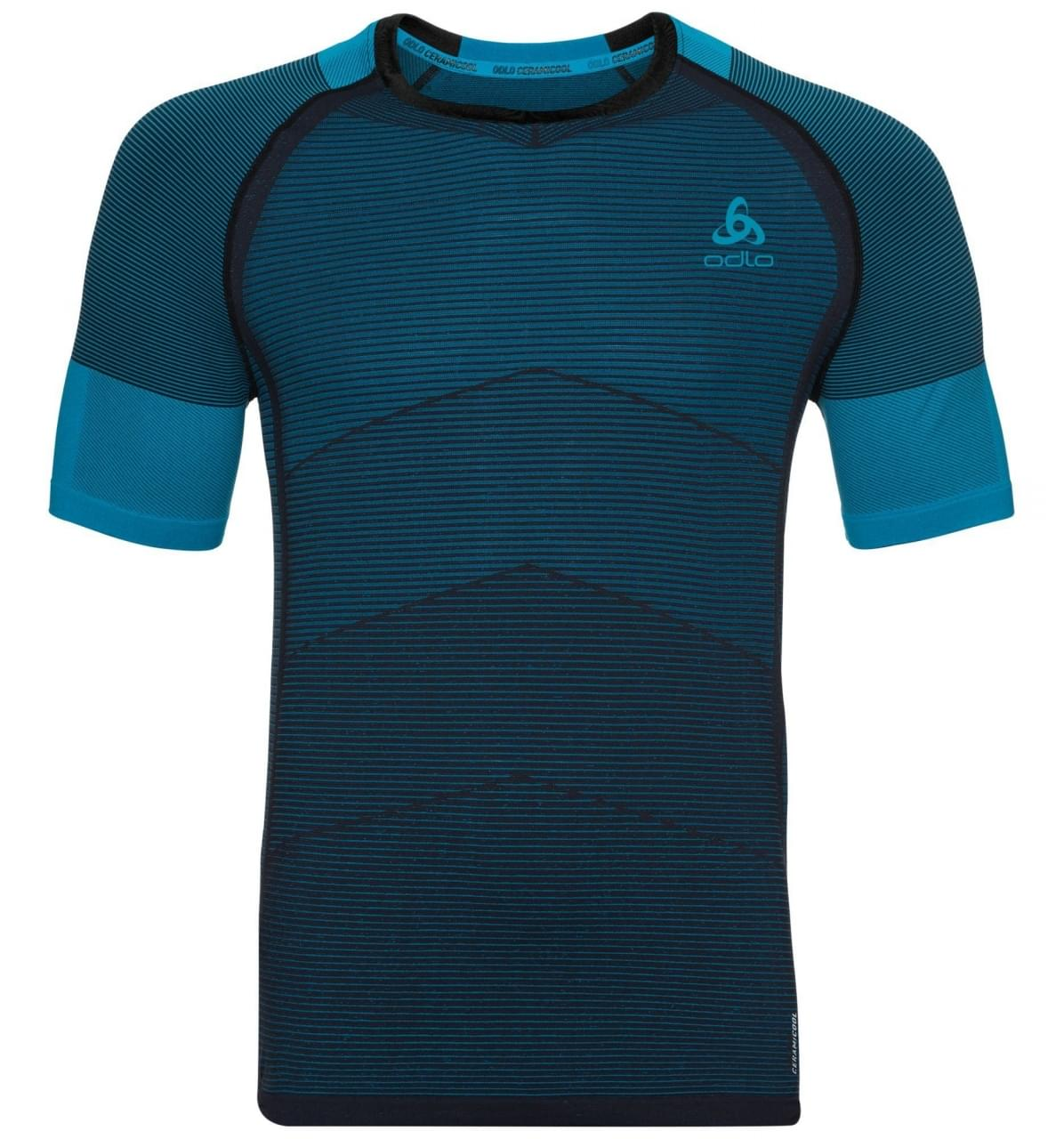 Odlo Ceramicool Motion Bl Top Crew Neck SS Heren