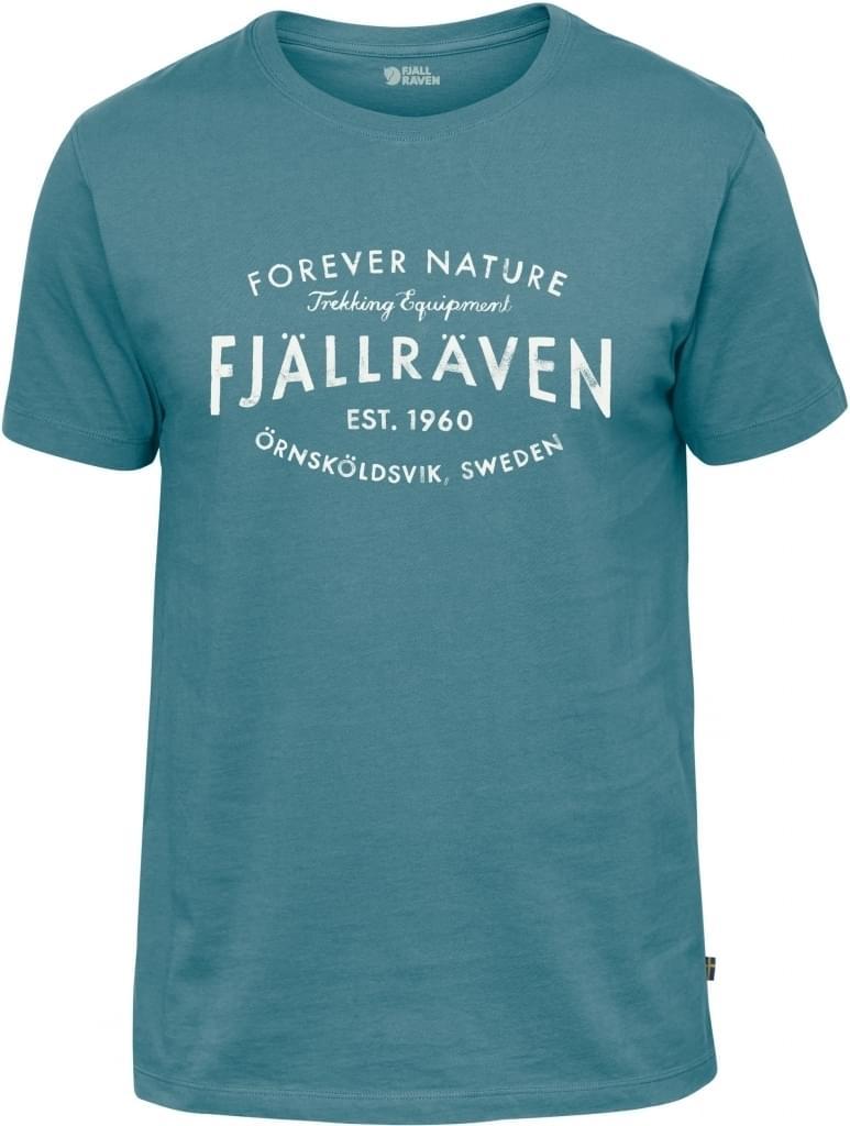 acb48bbb8ea Fjällräven Est. 1960 T-Shirt S Lagoon - Kleding Shirts