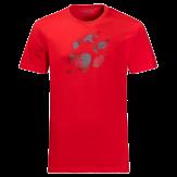 Jack Wolfskin Marble Paw T-Shirt Heren