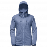 Jack Wolfskin Tongari Hooded Fleece Jacket Dames