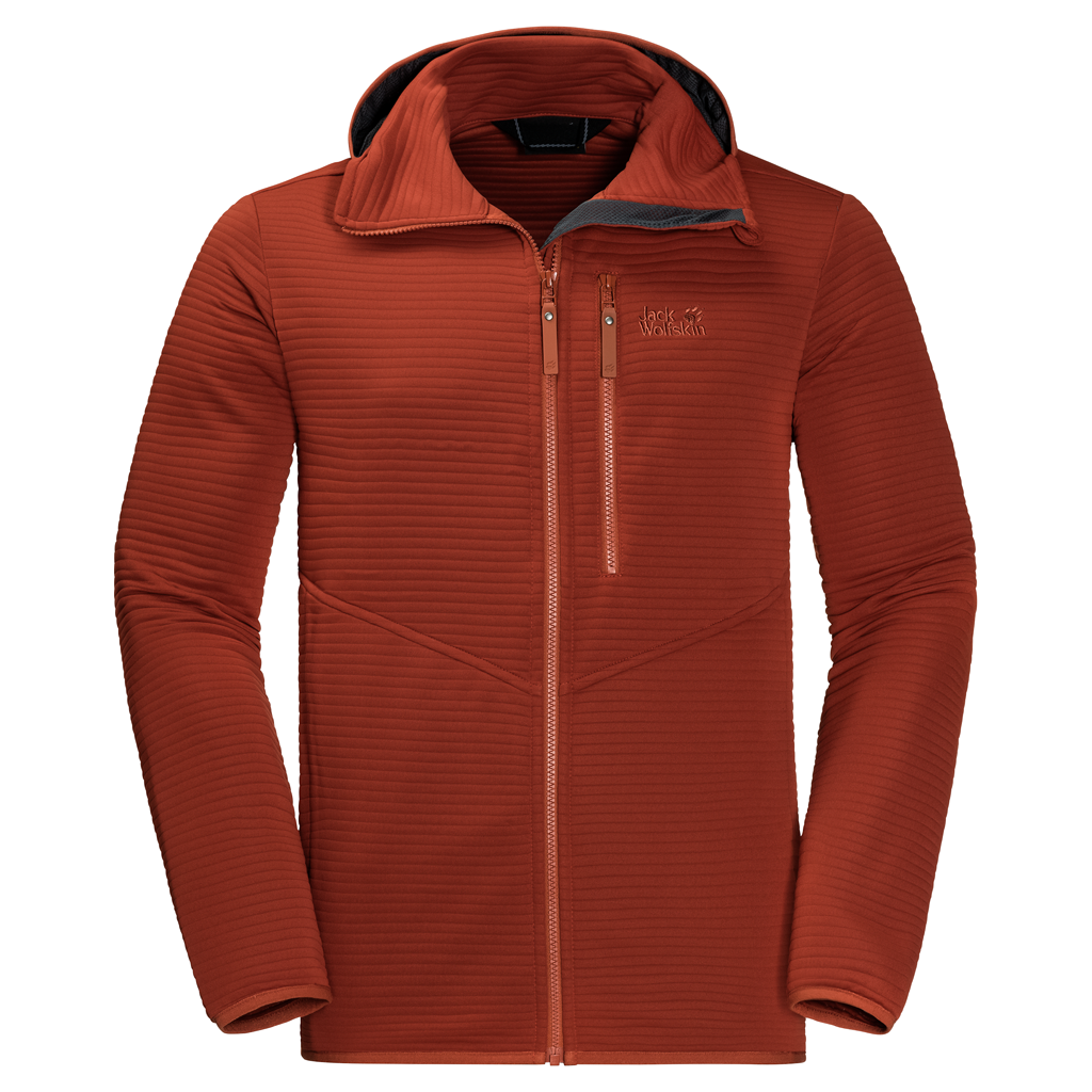 Jack Wolfskin Modesto Hooded Fleece Jacket Heren Truien en vesten > Fleece jacket > Truien en vesten