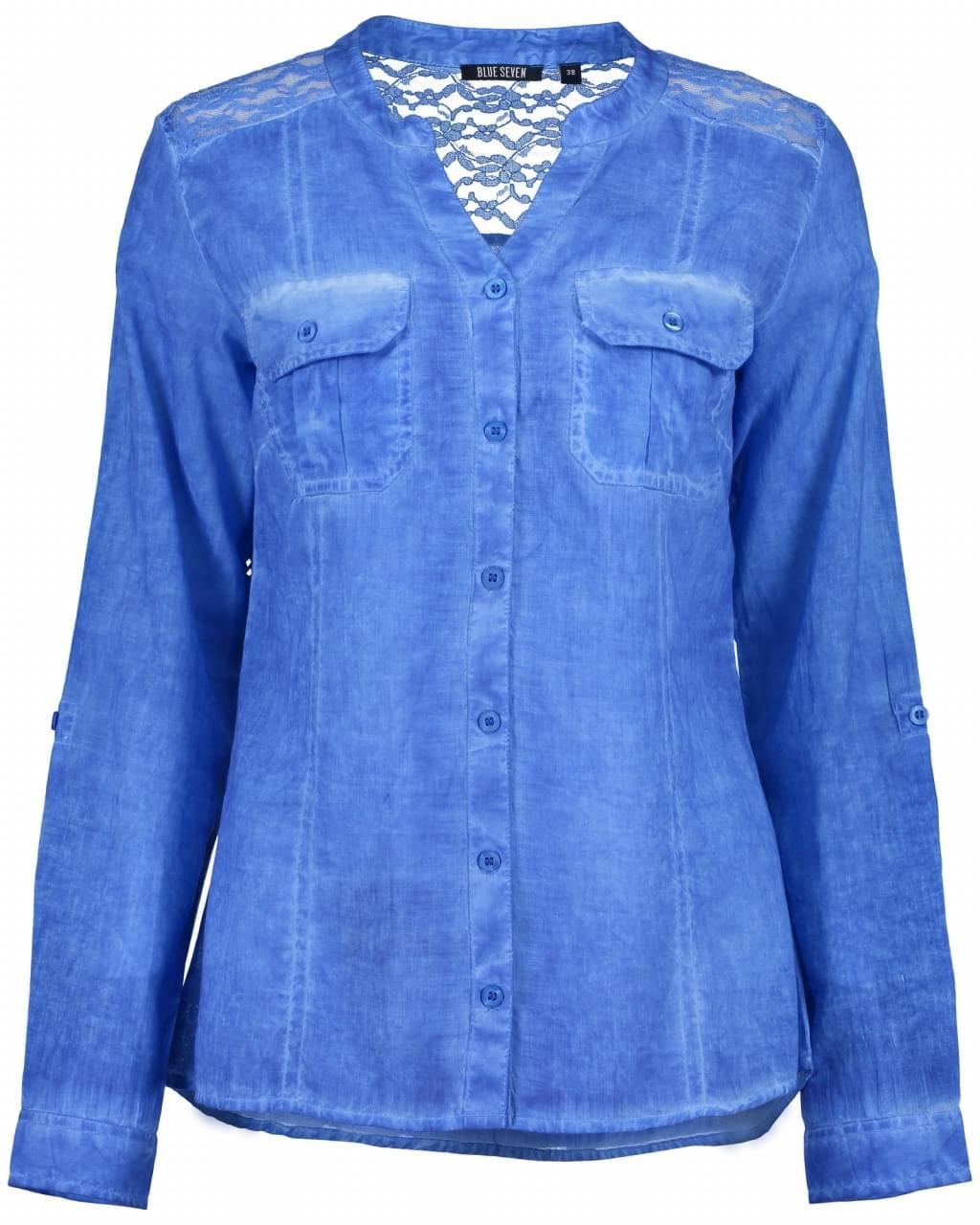 Blue Seven Denim Blouse Dames