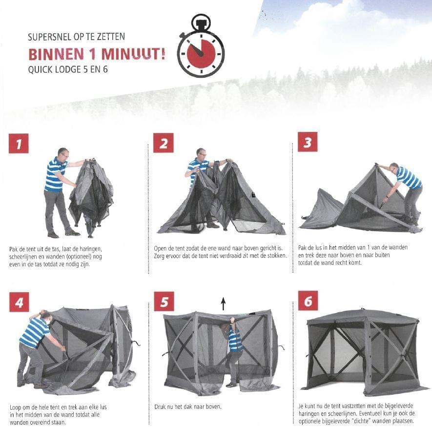 Bardani Quick Lodge 6 / Partytent