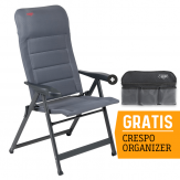Crespo AP-237 Air-Deluxe Campingstoel - Grijs
