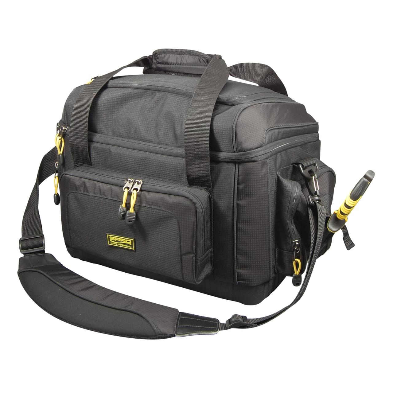 Spro Tackle Bag met 5 Tackle Boxen