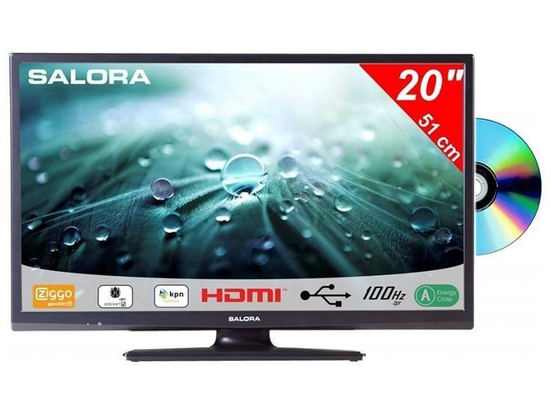 Salora 20 Inch LED TV 9109 met DVD