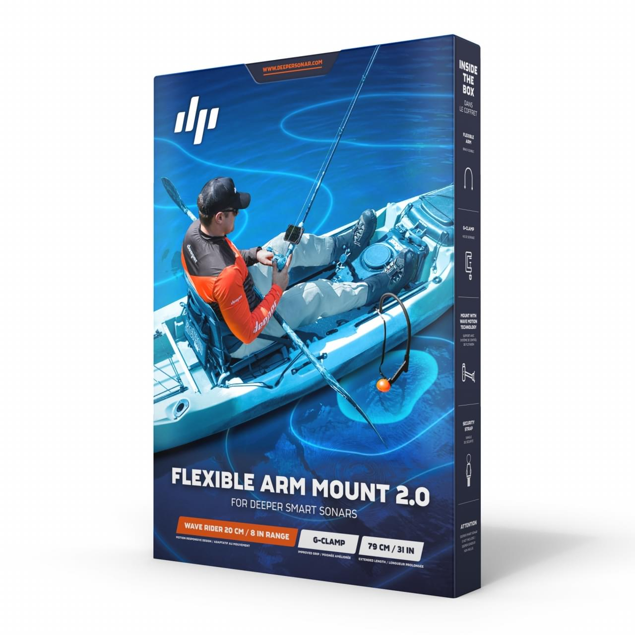 Deeper Flexibele bootsteun 2.0