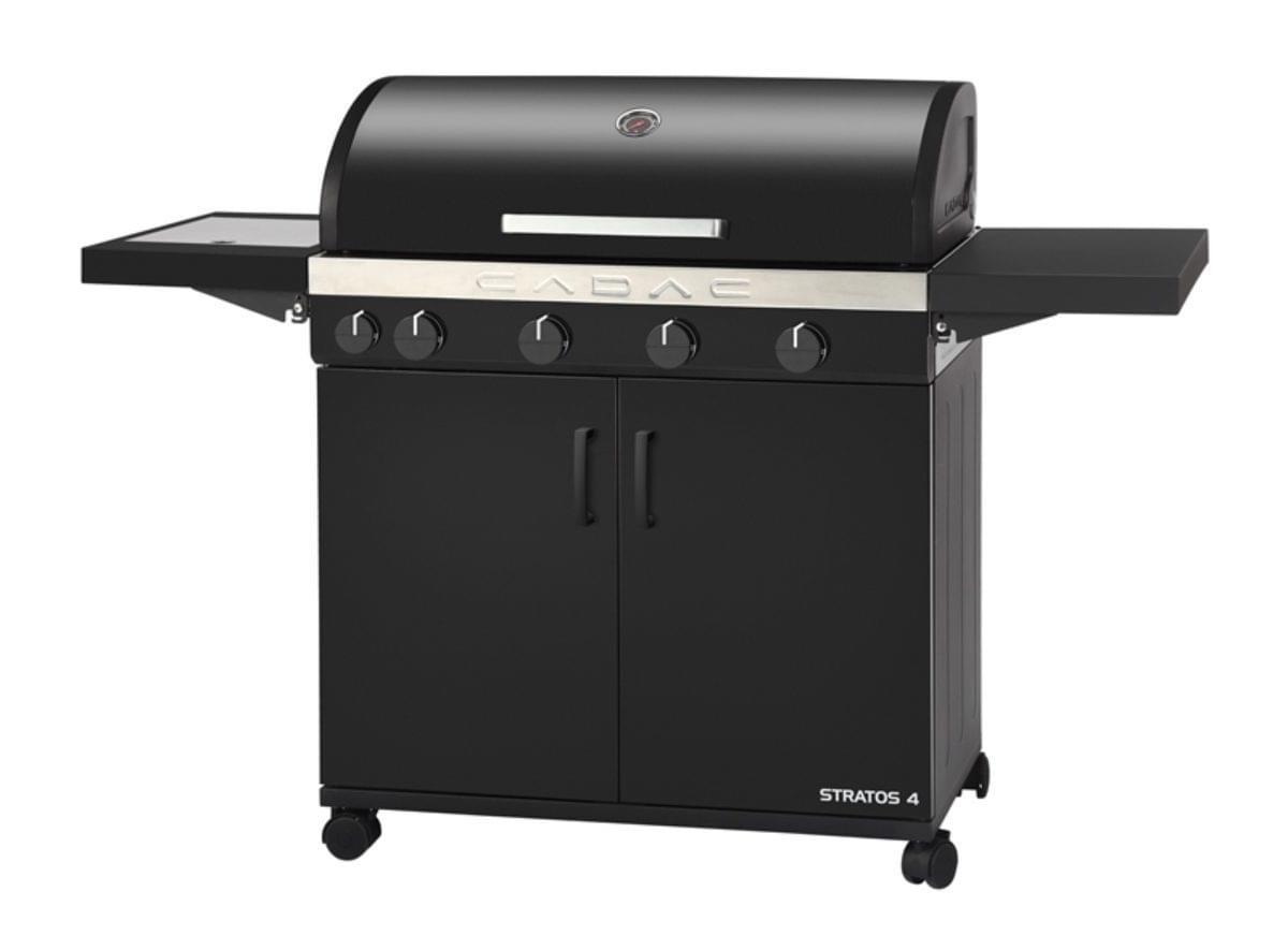 Cadac Stratos Barbecue 30mbar 4B+SB Zwart