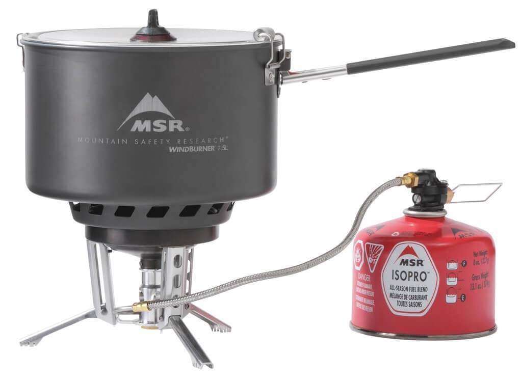 MSR WindBurner Group Stove System Gasbrander
