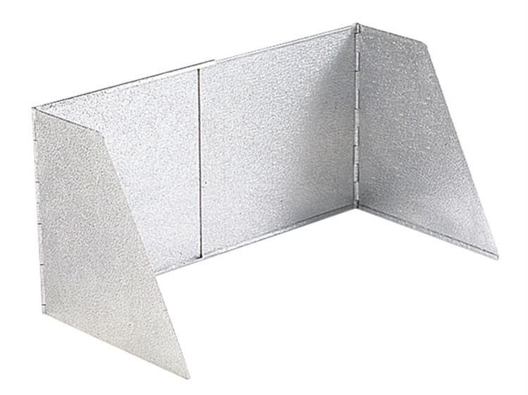 Crespo Aluminium windscherm 32 cm
