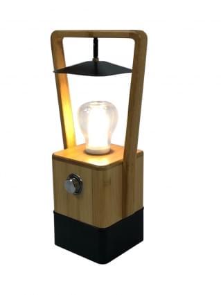 Human Comfort Bamboe oplaadbare lamp Andelat