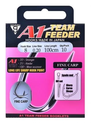 Gamakatsu A1 Team Feeder Fine Carp Onderlijn