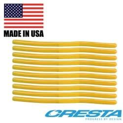 Cresta Cresta pole 8cm yellow Spaghetti