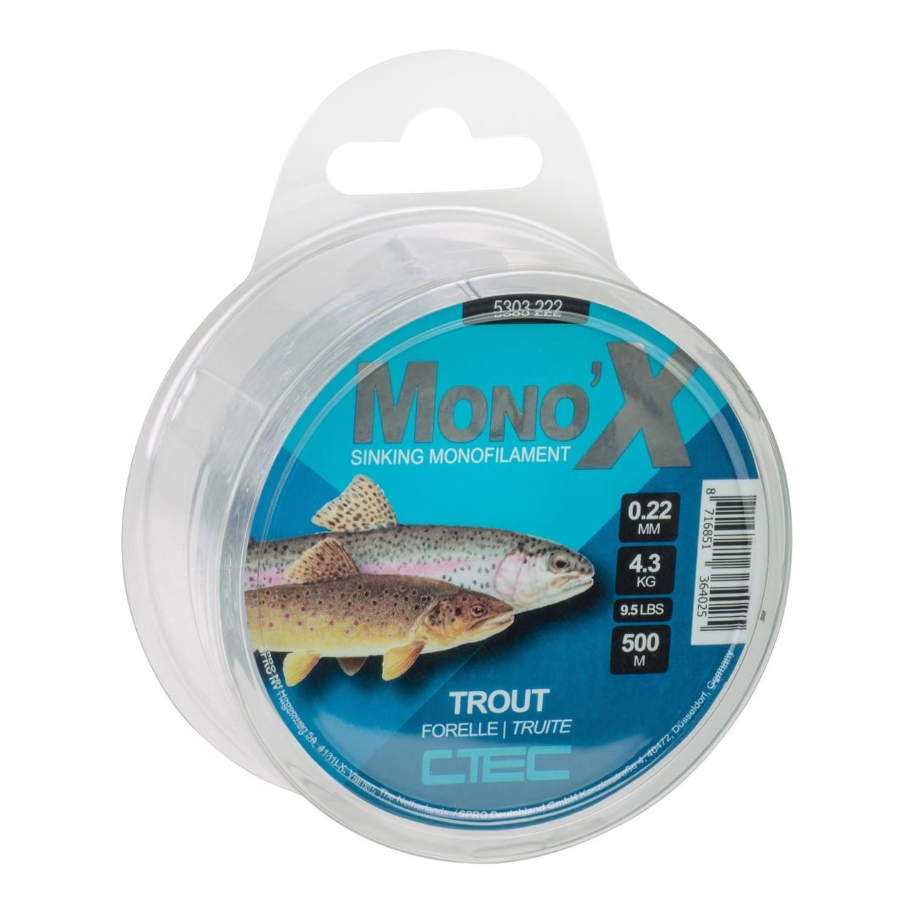 Spro C-Tec Trout Clear
