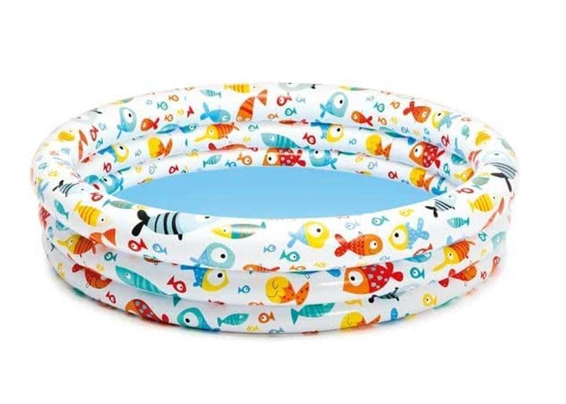 Intex Vissen Zwembad 132x28 cm