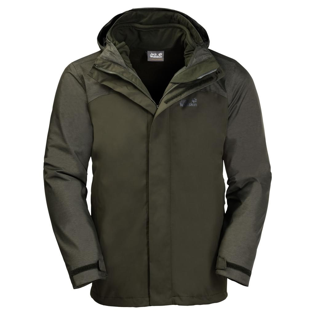 Jack Wolfskin Echo Lake Jas Heren