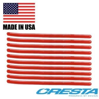 Cresta Cresta pole 8cm rood  Spaghetti