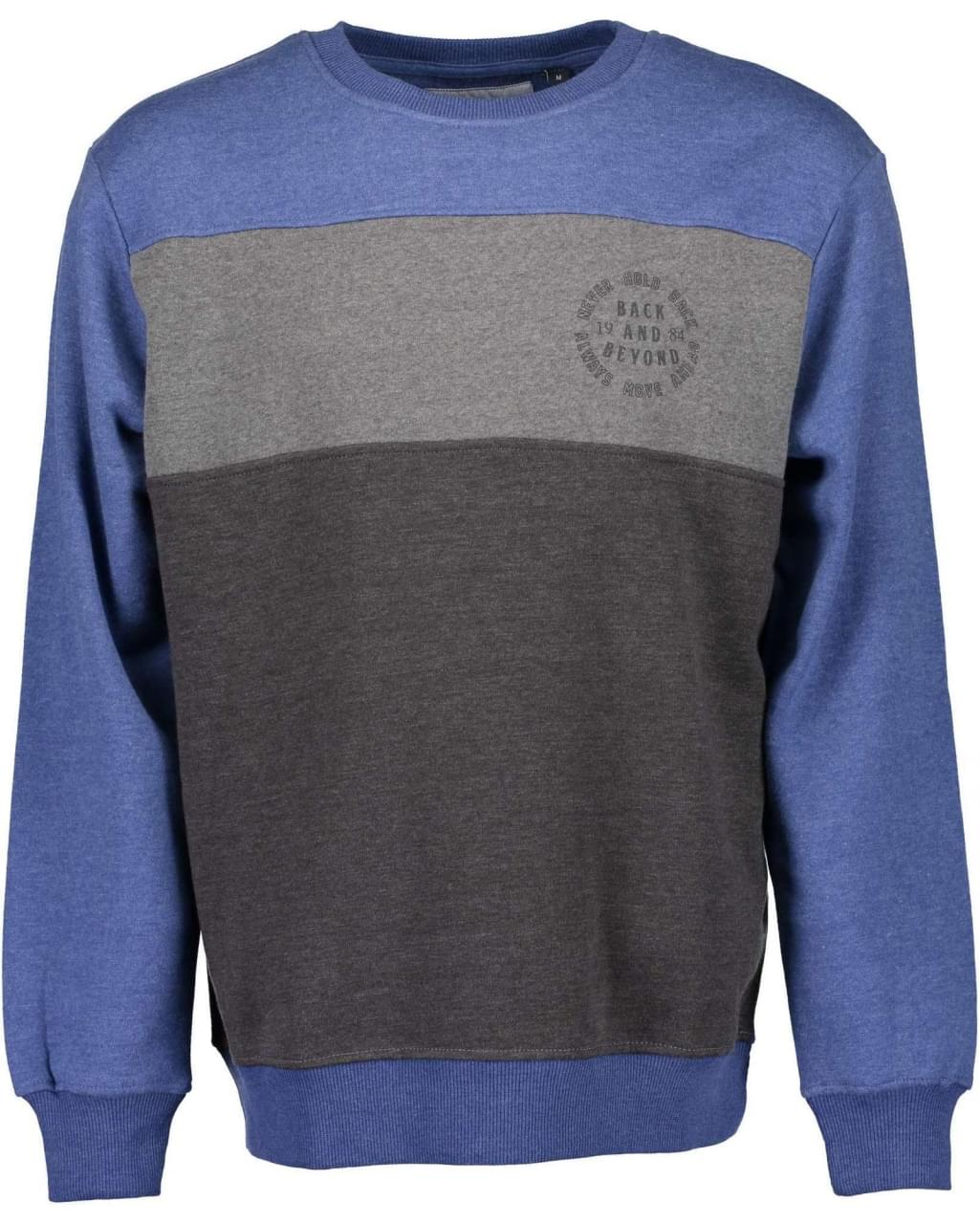 Blue Seven Back and Beyond Sweater Heren