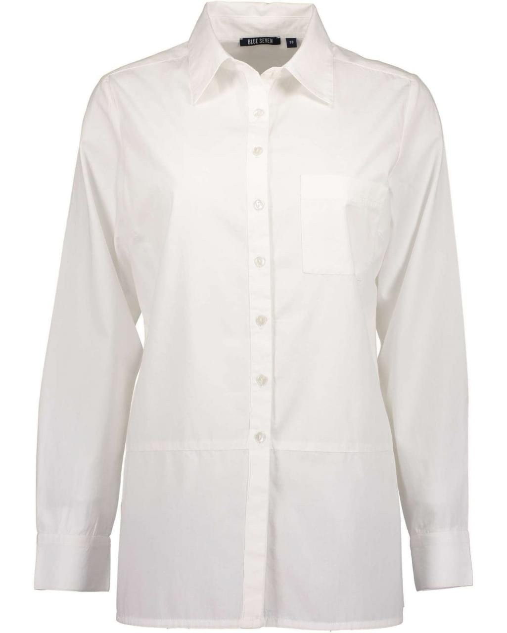 Blue Seven Lovely White Blouse Dames