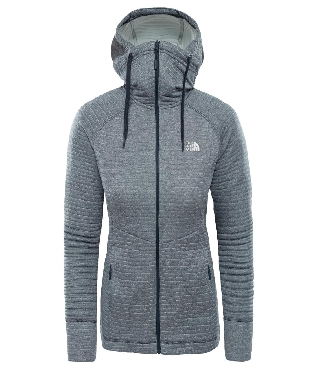 The North Face W Hikesteller Md Jkt Urban Navy-Tin mt. M
