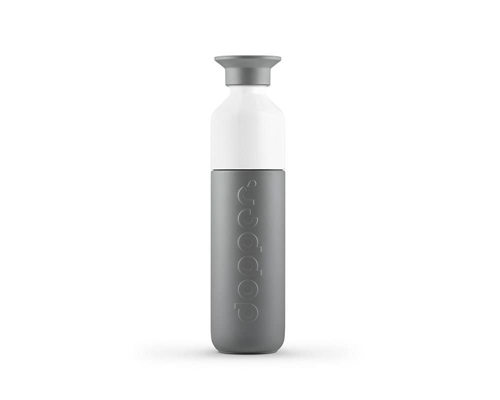 Dopper Insulated thermosfles 350 ml Glacier Grey
