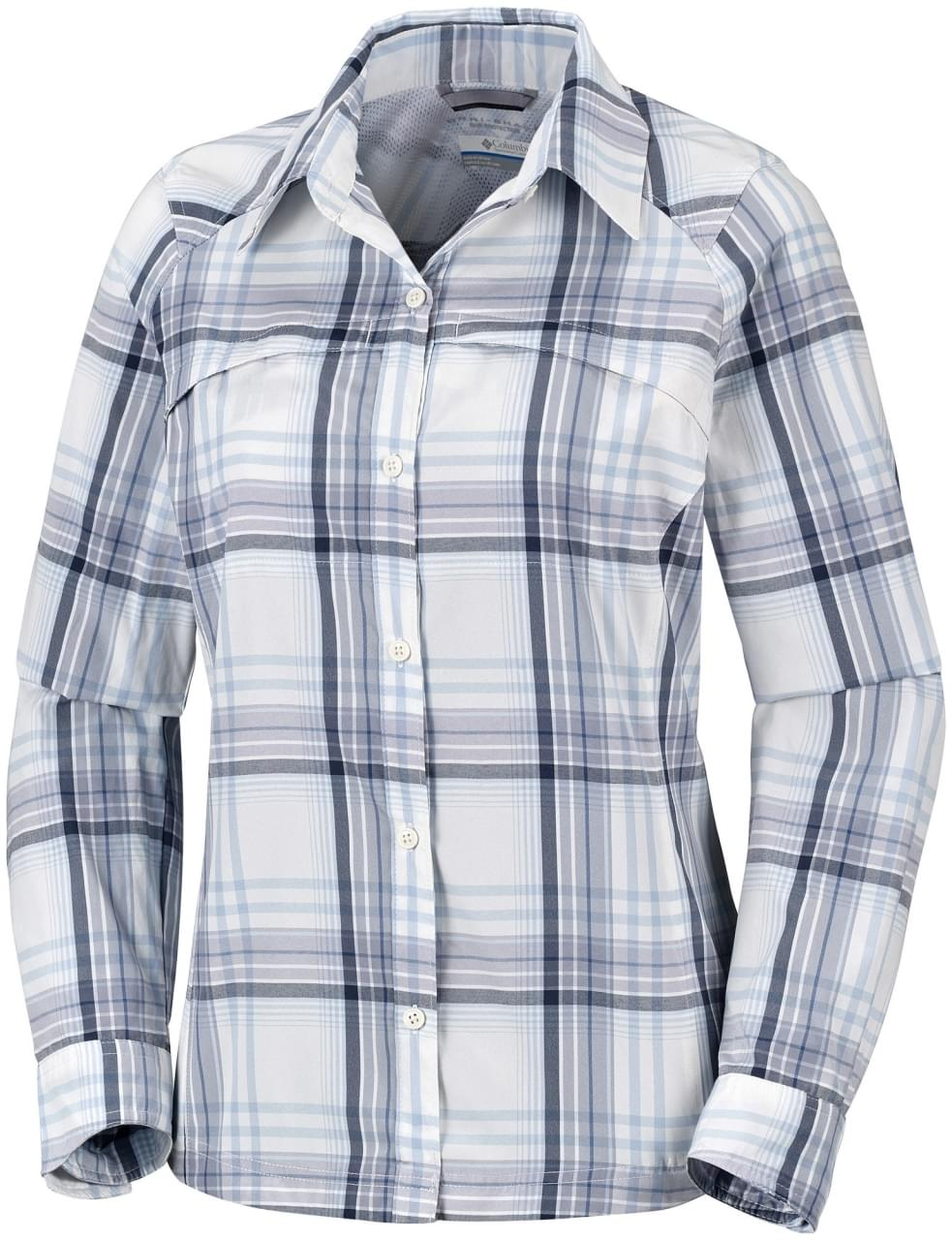 Columbia Silver Ridge Plaid Blouse Dames