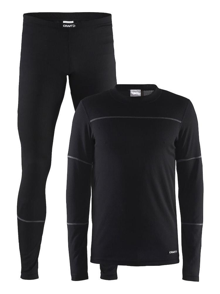 Craft Baselayer Set Heren Black