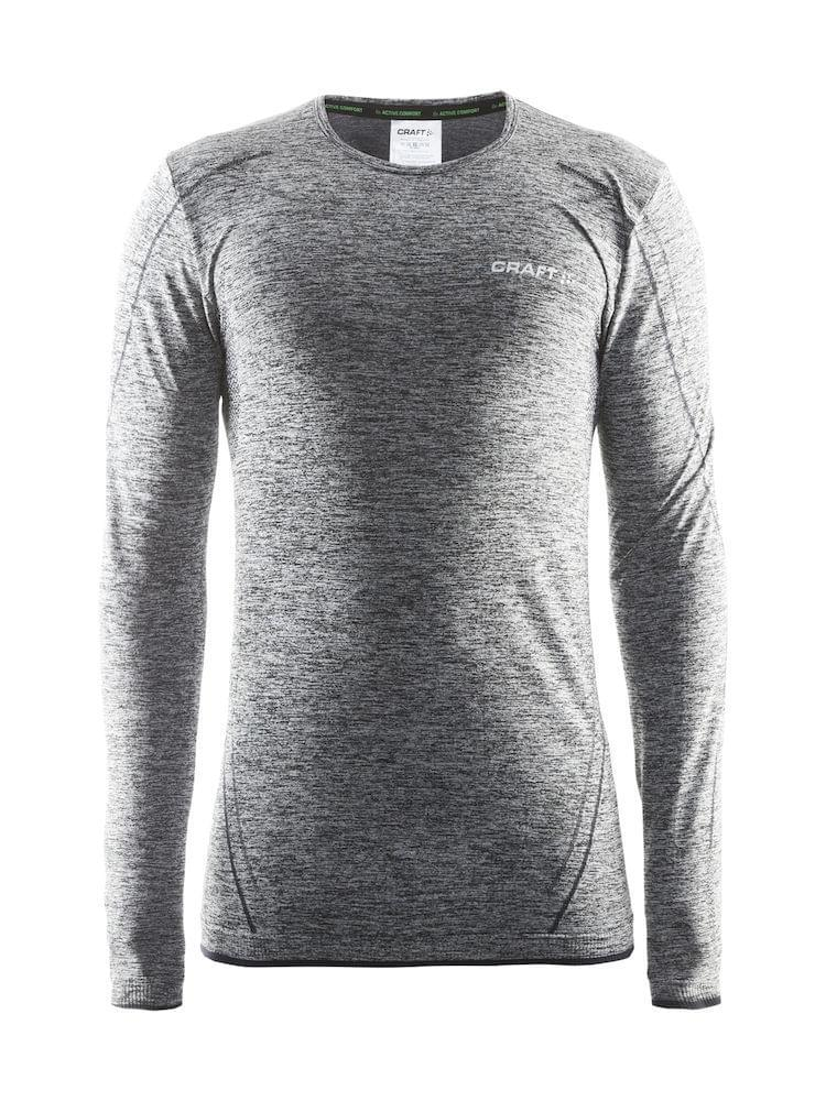 Craft Active Comfort Roundneck LS Heren Grey