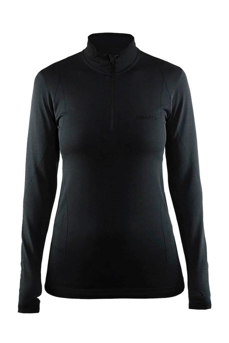 Craft Active Comfort Zip Dames Black