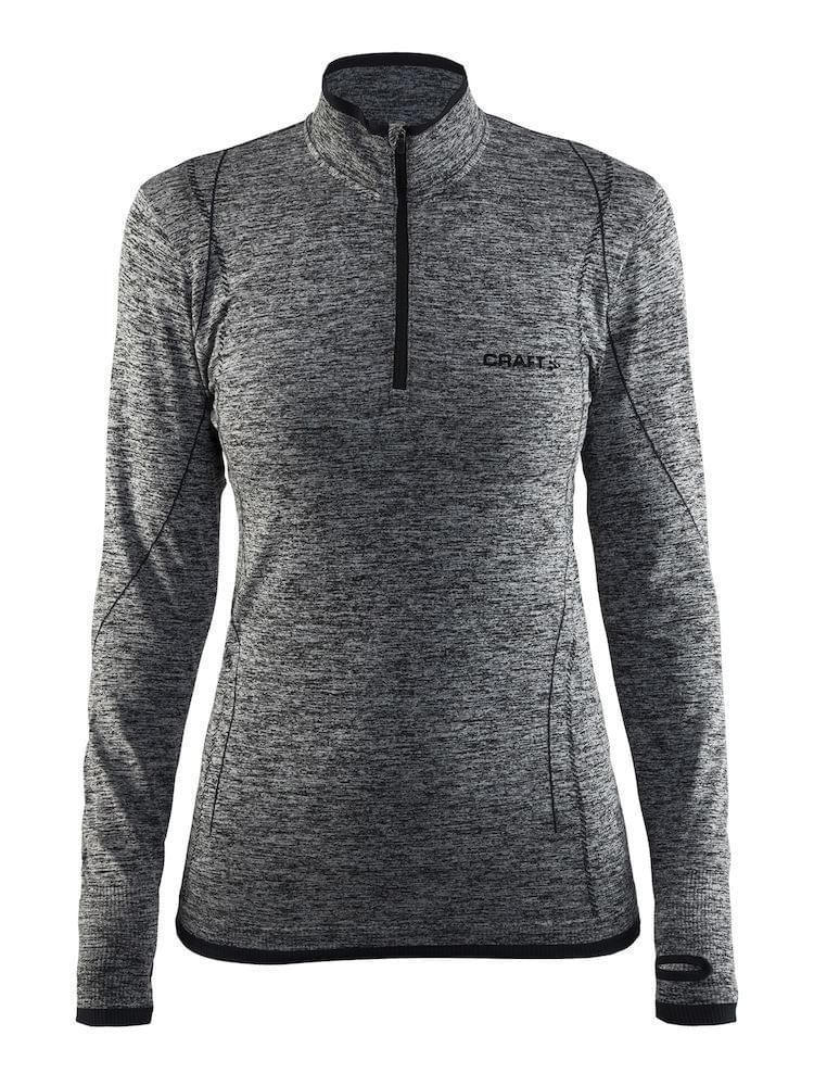 Craft Active Comfort Zip Dames Grey