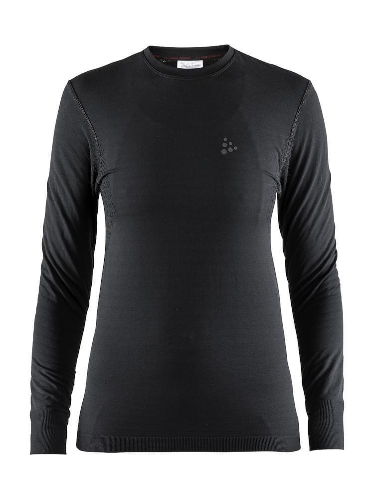 Craft Warm Comfort LS Dames Black