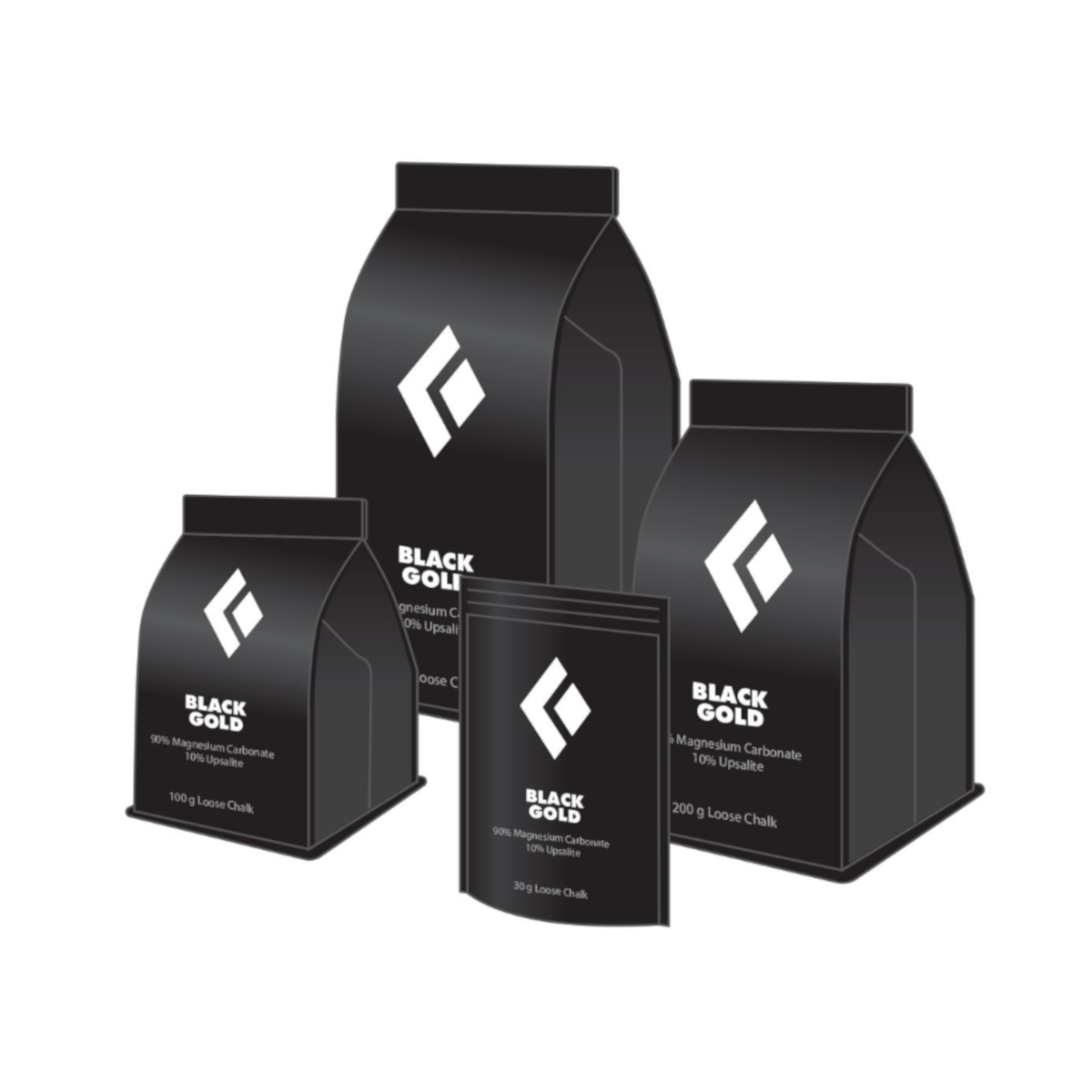 Black Diamond Black Gold Chalk 300 gram