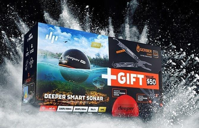 Deeper Fishfinder Pro+ Christmas Deal
