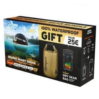 Deeper Fishfinder Pro+ gift pack