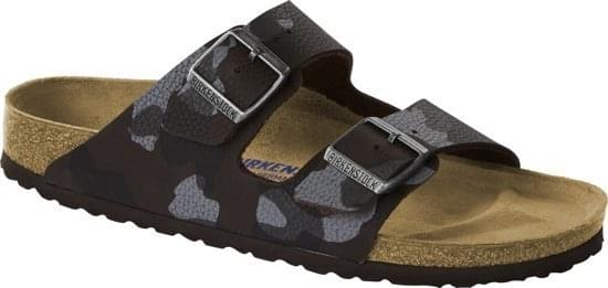 Birkenstock Arizona SFB Desert Soil Camou Regular Slipper Heren